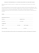 Request For Proposals Acknowledgement Of Receipt Form
