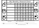 My Weekly Reward Chart