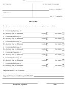 Blank Jury Verdict Form