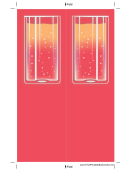 Fuzzy Drink Bookmark