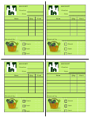 Farmers Market Receipt Template