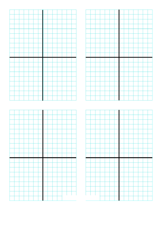 Graph Paper Template With Axis Printable pdf