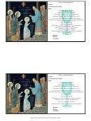 Holy Confirmation Card Template