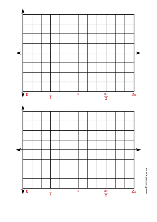 4 Quadrant Graph Paper Printable pdf