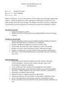 Primary Care Health Services, Inc. Job Description
