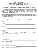 Amusement Gambling And Raffle Registration Form