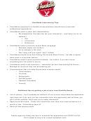 Application For Restaurant Employment