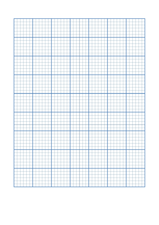 Large Square Graph Paper 5mm Grid