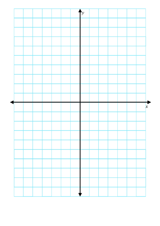 .5 Inch Axis Graph Paper Printable pdf