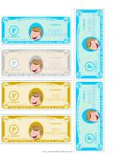 Play-dollar Templates - Thousands