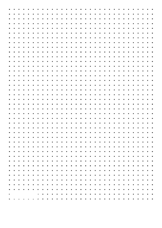 Dot Paper (black On White)