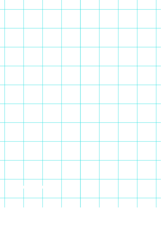 Grid Paper With One Line Per Inch