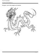 Dragon Coloring Sheets
