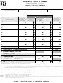 Form M-1040tc - Muskegon Tax Calculations Schedule For Use By Part Year Residents- 2002