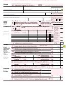 Form 1040a - U.s. Individual Income Tax Return -2015