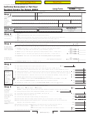 Form 540nr C1 - California Nonresident Or Part-year Resident Income Tax Return - 2004