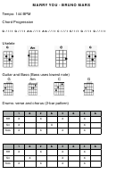 Marry You - Bruno Mars Guitar Chord Chart