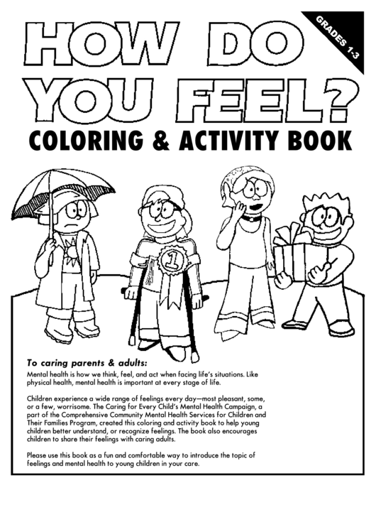 Coloring & Activity Sheet Printable pdf