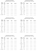 Withholding Tax Worksheet