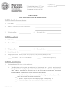 Form Com 4751 - Form Srsio State Retirement System Investment Officer - Ohio Dept.of Commerce