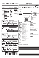 12 Dungeons And Dragons Character Sheets free to download in PDF