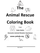 The Animal Rescue Coloring Book