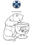 Cat And Fish Bowl Worksheet