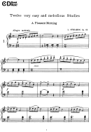 A Pleasant Morning Music Sheet