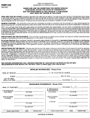 Form Cert-125 - Sales And Use Tax Exemption Form For Motor Vehicle Purchased Within The State Of Connecticut But Not Registered In The State By A Purchaser Who Does Not Reside In The State