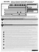 Formulario 943-x (pr) - Adjuste A La Declaracion Federal Anual Del Patrono De Empleados Agricolas O Reclamacion De Reembolso (spanish Version)