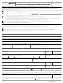 Formulario 14039 (sp) - Declaracion Jurada Sobre El Robo De Identidad (spanish Version)