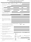 Form Chr-1 - West Virginia Registration Statement Of Charitable Organization - 2017