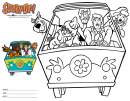 Scooby Doo Coloring Sheet