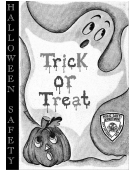 Trick Or Treat Coloring Sheets