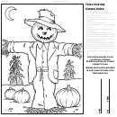 October Coloring Sheet
