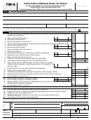 Form 706-a - United States Additional Estate Tax Return