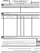 Form 706-gs(d-1) - Notification Of Distribution From A Generation-skipping Trust