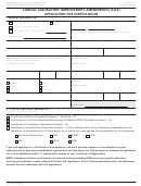 Form Cms-116 - Clinical Laboratory Improvement Amendments Of 1988 (clia) Application For Certification