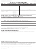 Form Cms-848 - Certificate Of Medical Necessity - Transcutaneous Electrical Nerve Stimulator (tens) - Dme 06.03b