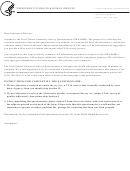 Form Cms-668b - Post Clinical Laboratory Survey Questionnaire