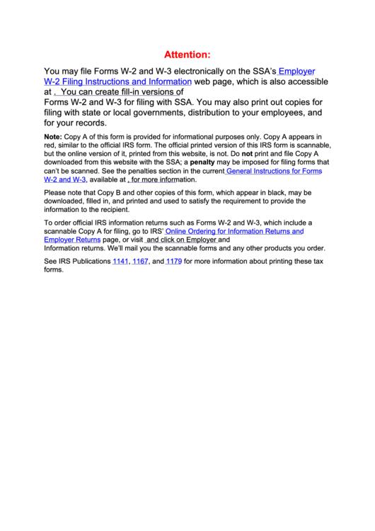 Form W-2vi - U.s. Virgin Islands Wage And Tax Statement - 2017 Printable pdf
