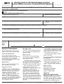 Form 8811 - Information Return For Real Estate Mortgage Investment Conduits (remics) And Issuers Of Collateralized Debt Obligations