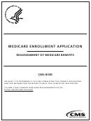 Form Cms-855r - Medicare Enrollment Application - Reassignment Of Medicare Benefits