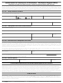 Form 14462 - Authorization For Disclosure Of Information - Irs Return Preparer Office