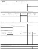 Form 940-b - Request For Verification Of Credit Information Shown On Form 940
