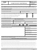 Form 14452 - Foreign Account Or Asset Statement