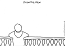 Draw The View Coloring Sheet