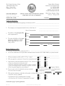 Form Cf-2 - Application For Exemption From Certificate Of Authority - 2017