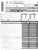 Form Nyc-1127 - Form For Nonresident Employees Of The City Of New York - 2001