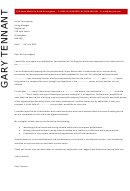 Civil Engineer Cover Letter Sample - Dayjob - 2012